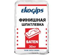Финишная шпаклевка Сатенгипс Экогипс 30 кг