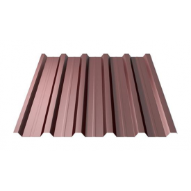 Профнастил Ruukki RanTech 20 R Polyester Matt 45 мм шоколадний