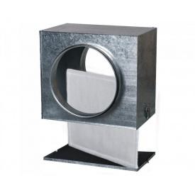 Кассетный воздушный фильтр Vents ФБ 125 оцинкованная сталь 209х220х235 мм