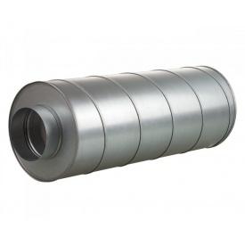 Шумоглушитель Vents СР 150/600 оцинкованная сталь 252х600 мм