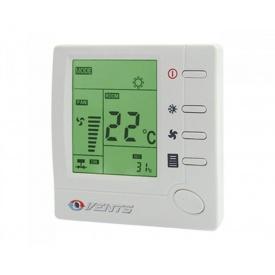 Регулятор температури Vents РТС-1-400 пластик IP 40 88х88х51 мм