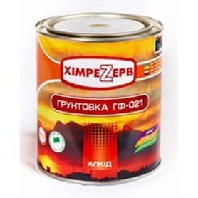 Грунтовка по металлу Химрезерв ГФ-021 0,9 кг красно-коричневая