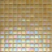 Мозаика стеклянная на бумаге Eco-mosaic перламутр 20IR30 327х327 мм