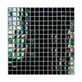 Мозаика стеклянная на бумаге Eco-mosaic перламутр 20IR48 327х327 мм