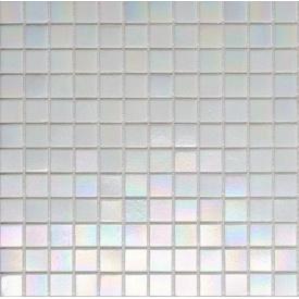Мозаика стеклянная на бумаге Eco-mosaic перламутр 20IR12 327x327 мм