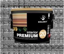 Фарба Kolorit Interior Premium 20 база А 9 л