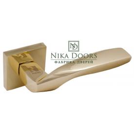 Дверная ручка RODOS A56167 BP золото