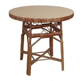 Плетенный столик ЧФЛИ СЖ-2 из лозы 750x800 мм