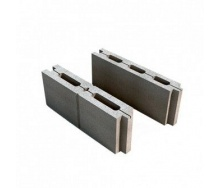 Блок колотый М-75 390х188х140 мм