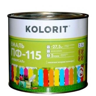 Эмаль Kolorit ПФ-115 Универсал 2,5 л бежевая