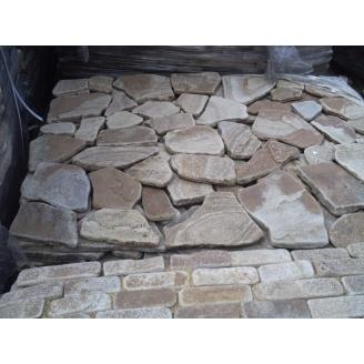 Камень песчаник 30 мм серый