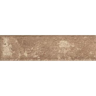 Фасадная плитка клинкерная Paradyz Scandiano Ochra 245x66x11 мм