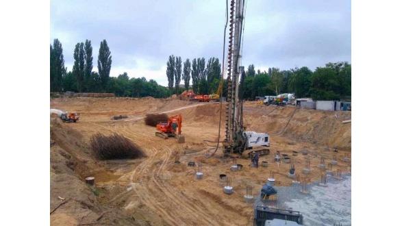 Разработка котлованов, земляные работы