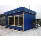 Строительство магазинов из металлоконструкций