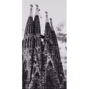 Плитка декоративна АТЕМ Spain Sagrada Familia 295х595 мм
