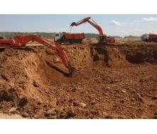 Разработка грунта котлована с перемещением до 30 км