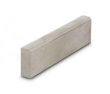 Бордюр дорожный малый Золотой Мандарин 1000х250 мм серый