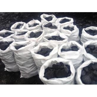 Уголь в мешках по 50 кг