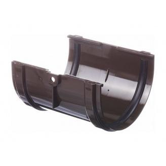 Соединитель желоба Docke Standard 135 мм шоколад
