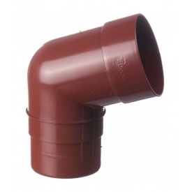 Коліно труби Docke Standard 72 градуси гранат