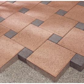 Тротуарна плитка Юнігран Євро 100x100 мм вишня