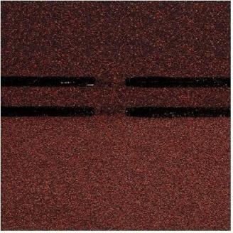 Коньково-карнизная черепица Docke PIE GOLD 1000х333х3,1 мм имбирь