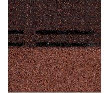 Коньково-карнизная черепица Docke PIE GOLD 1000х333х3,1 мм корица