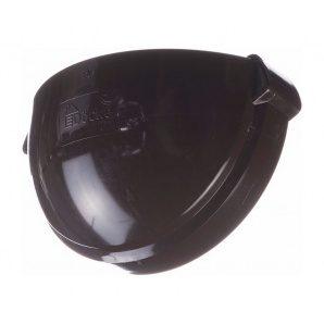 Заглушка ринви Docke Lux 141х67 мм шоколад