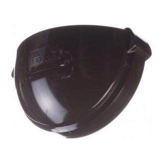 Заглушка желоба Docke Lux 141х67 мм шоколад