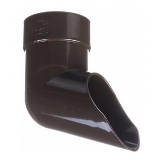 Отвод Docke Lux 100 мм шоколад