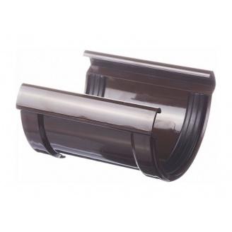 Соединитель желоба Docke Lux 141 мм шоколад