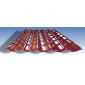 Металлочерепица U.S. Steel Kosice 0,5 мм  (Словакия) глянцевая красная