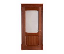 Дверь межкомнатная Двери Белоруссии 7-2 ПО 600x2000 мм коньяк