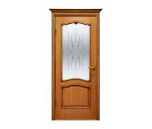 Дверь межкомнатная Двери Белоруссии Оникс ПО 600x2000 мм орех