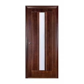 Дверь межкомнатная Белоруссии Троя ПО 600x2000 мм темный орех