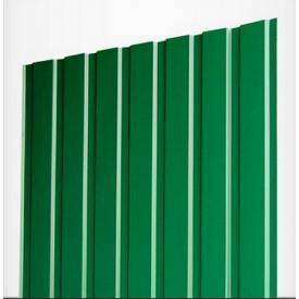 Профнастил ЕвроСтрой ПС-8 0,45 мм цинк/полимер (Словакия) зеленый