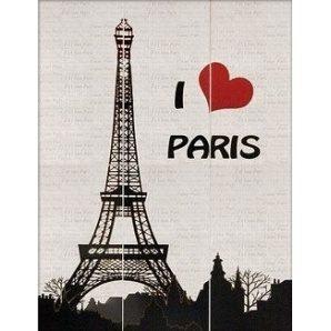 Панно АТЕМ I Love Paris 885x1190 мм