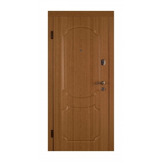 Дверь входная Двери Белоруссии Юнона 880x2040х70 мм дуб натуральный