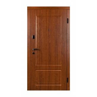 Дверь входная Двери Белоруссии Фортуна 880x2040х70 мм дуб золотой