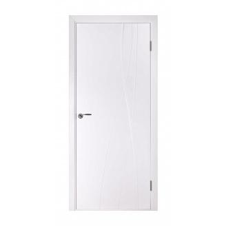 Дверь межкомнатная Двери Белоруссии Авангард-Т ПГ 600х2000 мм белая эмаль