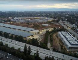Новая штаб-квартира Apple переворачивает Силиконовую Долину с ног на голову