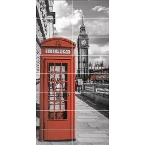 Панно АТЕМ Telephone Box 1190х2360 мм