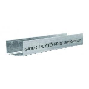 Профіль SINIAT PLATO Prof UW металевий 75х3000х0,55 мм