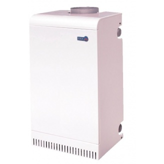 Газовый дымоходный котел Вулкан АОГВ 7 ВЕ 7 кВт 730x380x230 мм