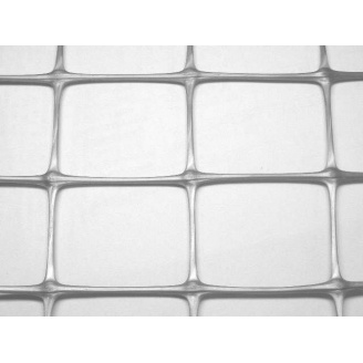 Сітка для огорожі Tenax Millennium 33x46 мм 2x50 м срібло