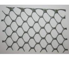 Сітка для огорожі декоративна Tenax Exagon 20x19 мм 1x30 м срібло