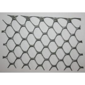 Сетка для ограждения декоративная Tenax Exagon 20x19 мм 1x30 м серебро