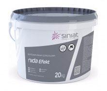 Шпаклевка SINIAT NIDA Efekt доломитовая 20 кг белый