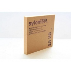 Еластомер для віброізоляції SYLOMER SR 110 5000x1500x25 мм коричневий