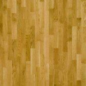 Паркетная доска трехполосная Focus Floor Дуб LEVANTE золотистый лак 2266х188х14 мм